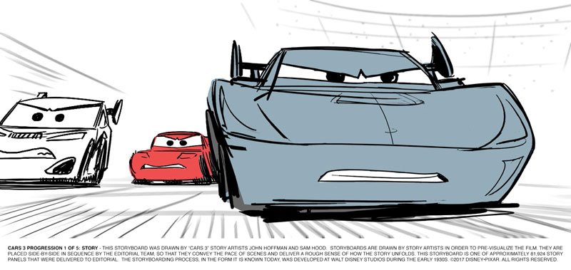Jackson Storm Beats Lightning In New Cars 3 Trailer