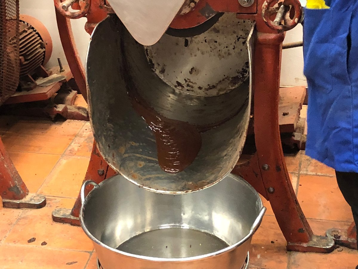 Chocolate Mill in Oaxaca City