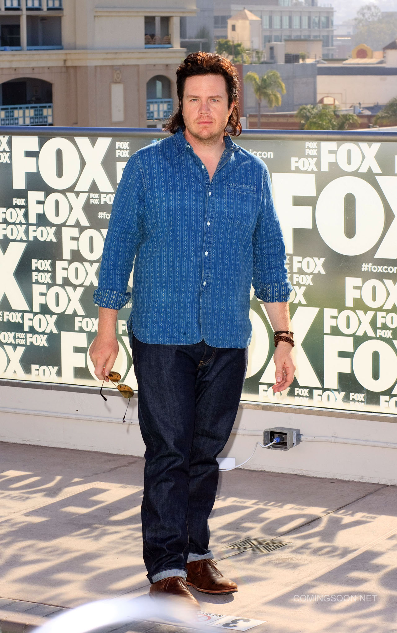 Fox Comic Con breakfast with the cast of Walking Dead and Outcast Featuring: Josh McDermitt Where: San Diego, California, United States When: 22 Jul 2016 Credit: Tony Forte/WENN