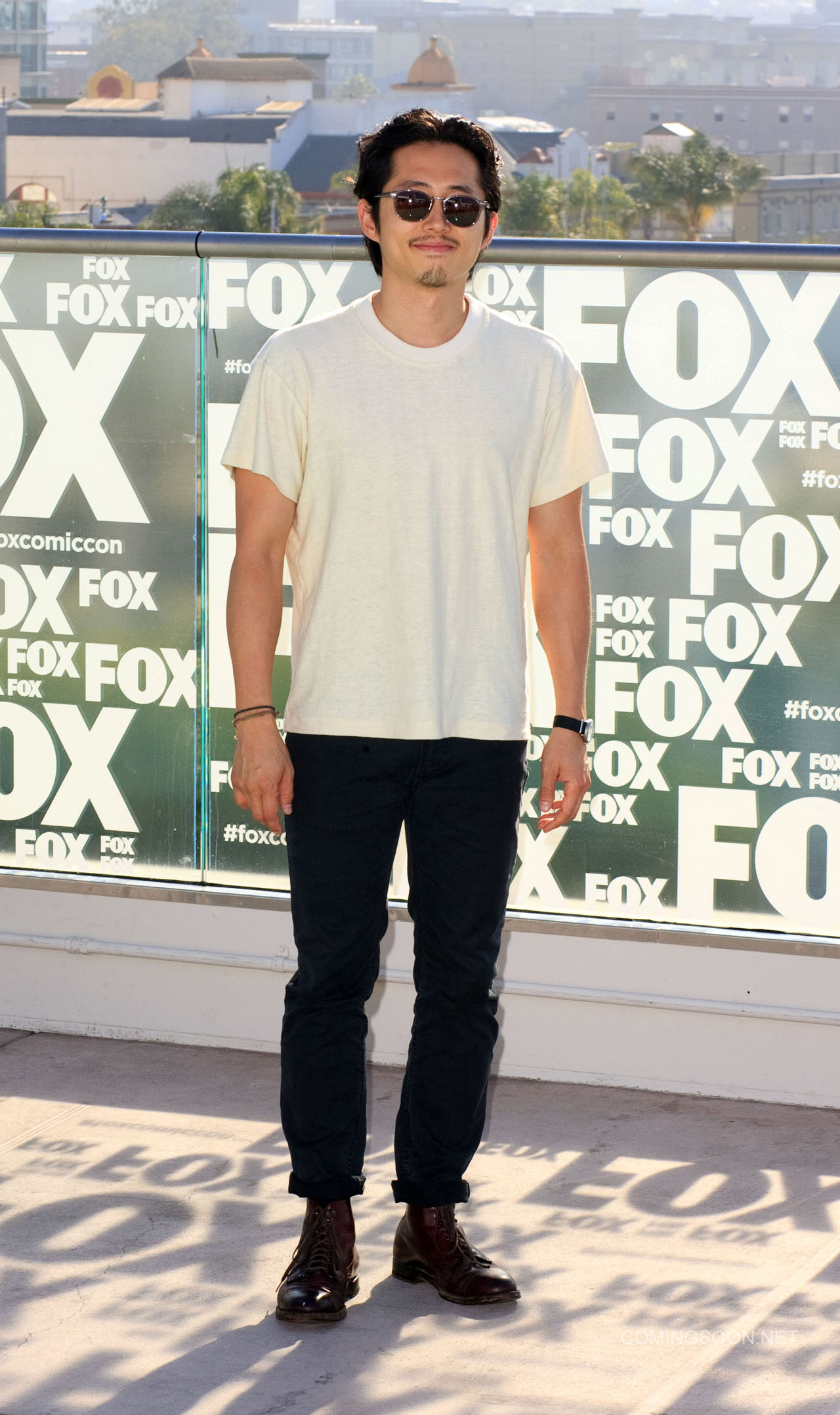 Fox Comic Con breakfast with the cast of Walking Dead and Outcast Featuring: Steven Yeun Where: San Diego, California, United States When: 22 Jul 2016 Credit: Tony Forte/WENN