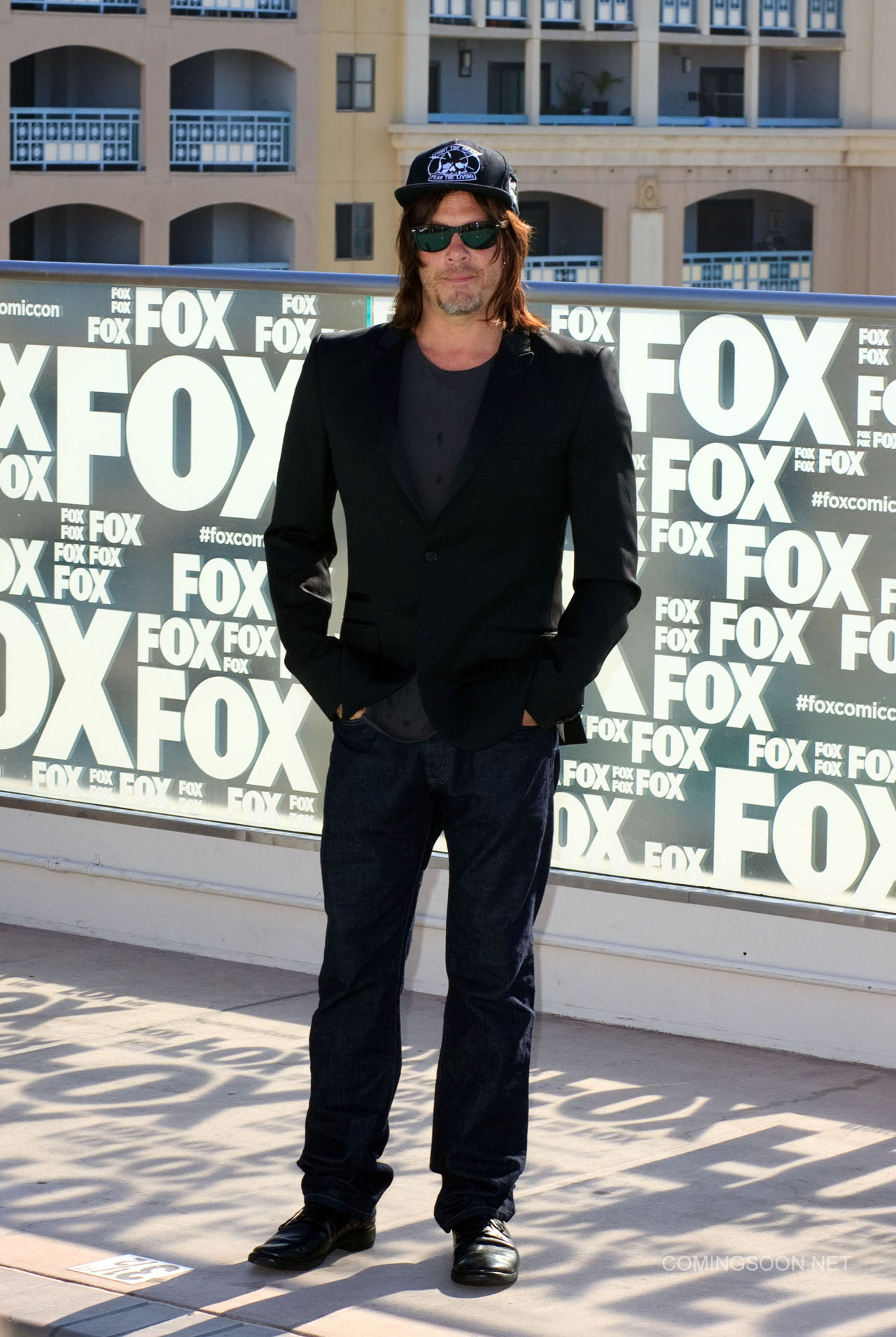 Fox Comic Con breakfast with the cast of Walking Dead and Outcast Featuring: Norman Reedus Where: San Diego, California, United States When: 22 Jul 2016 Credit: Tony Forte/WENN