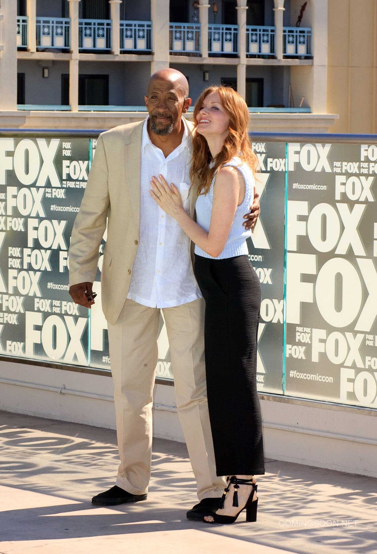 Fox Comic Con breakfast with the cast of Walking Dead and Outcast Featuring: Reg E. Cathey, Wren Schmidt Where: San Diego, California, United States When: 22 Jul 2016 Credit: Tony Forte/WENN