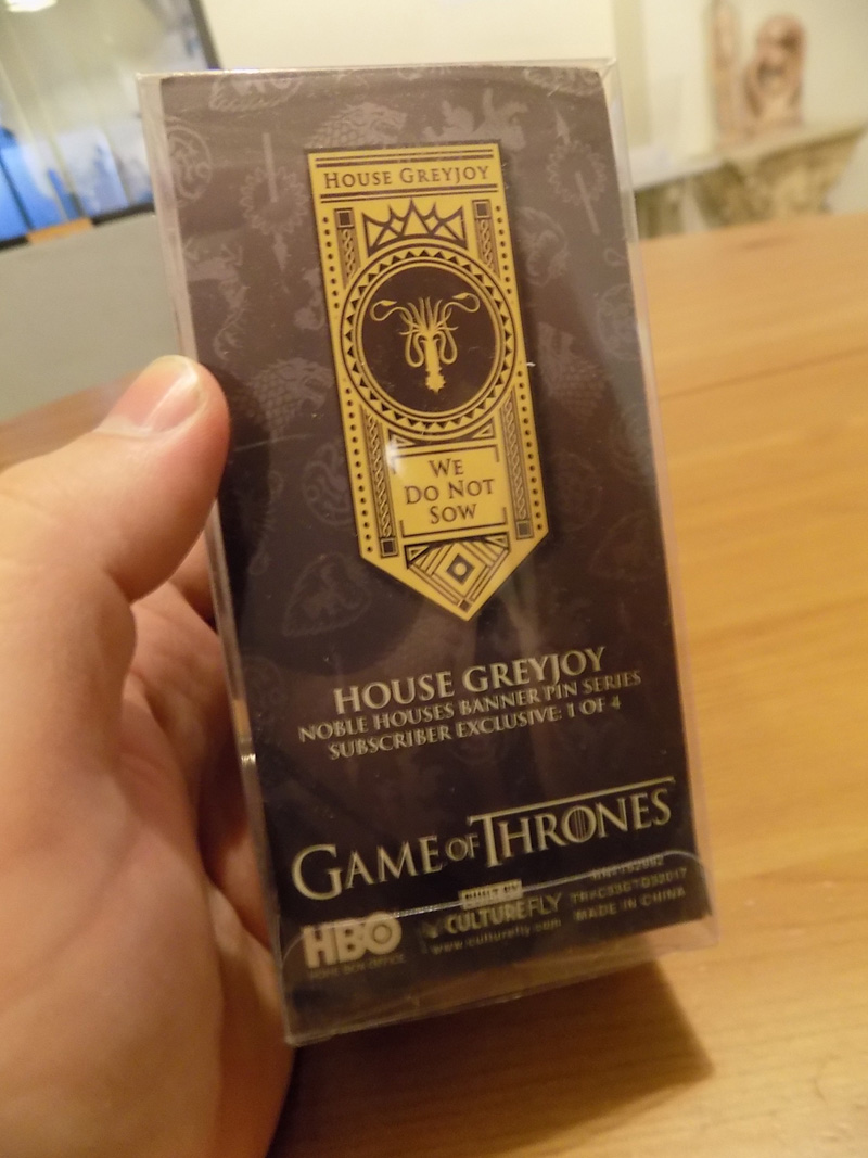 CultureFly Game of Thrones Box January 2018