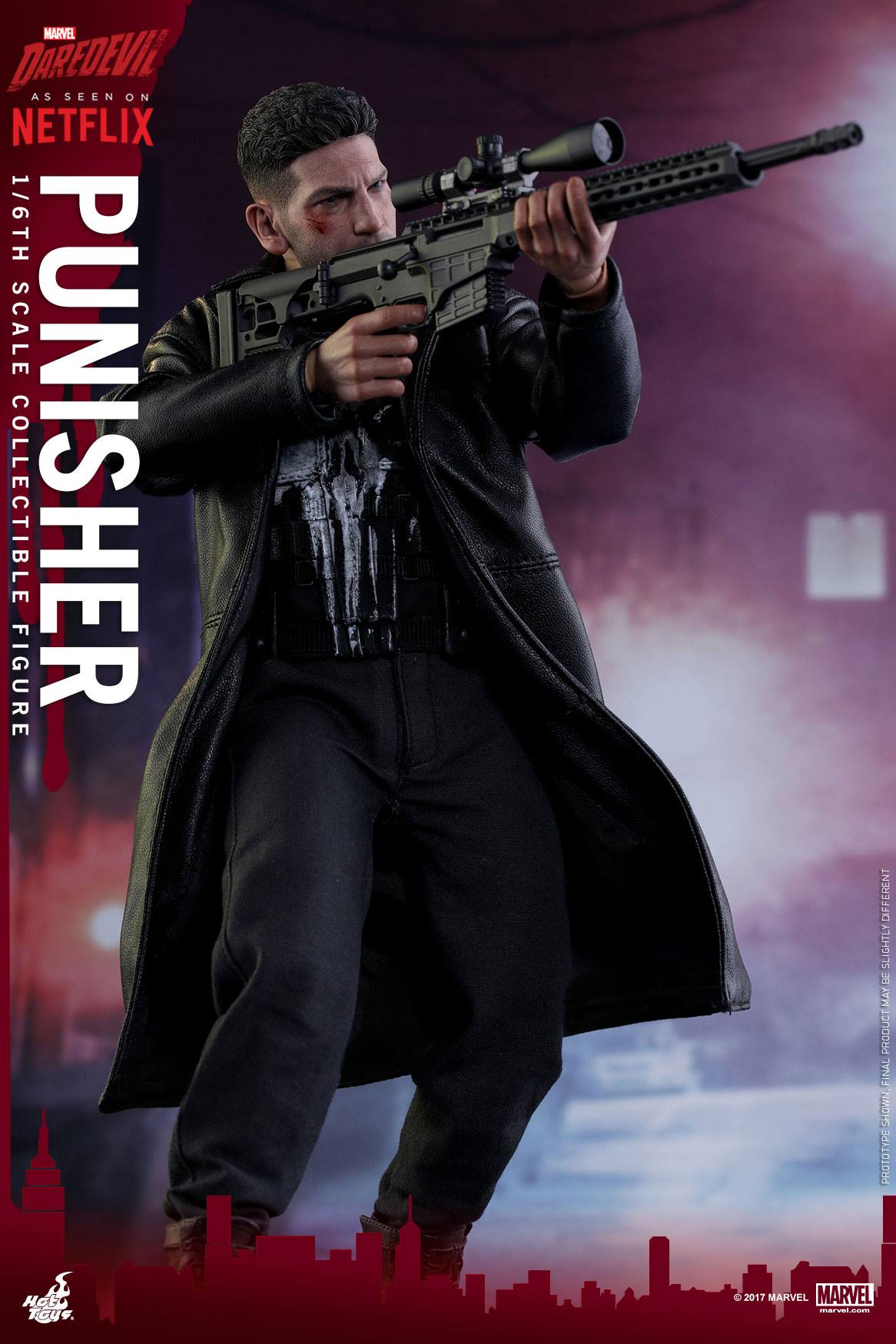 The Punisher Hot Toy
