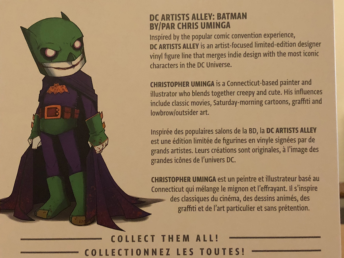 DC Artists Alley Villain Variants