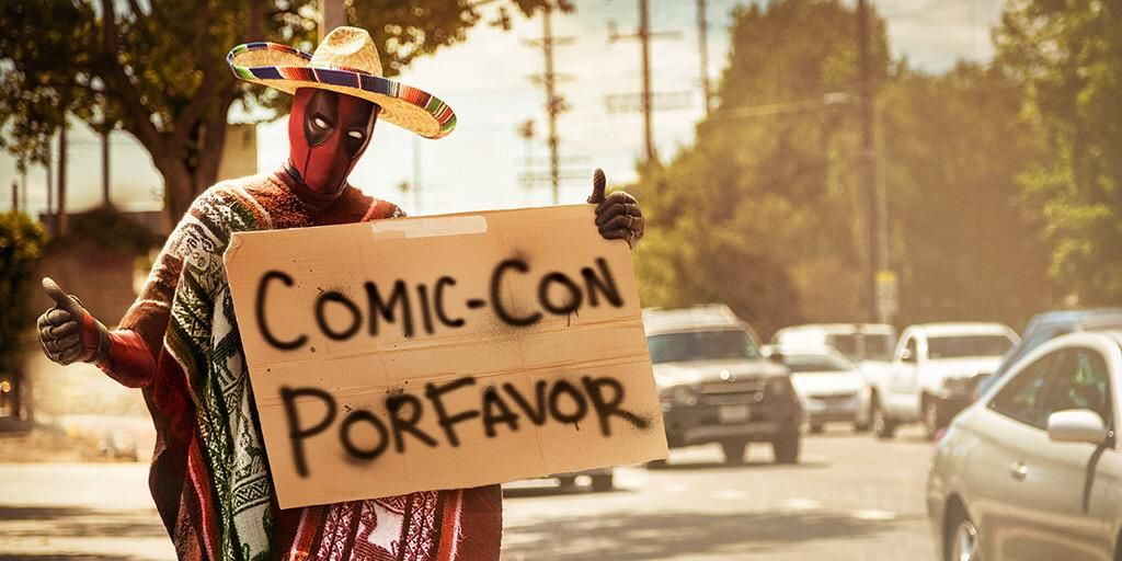 Deadpool San Diego Comic-Con