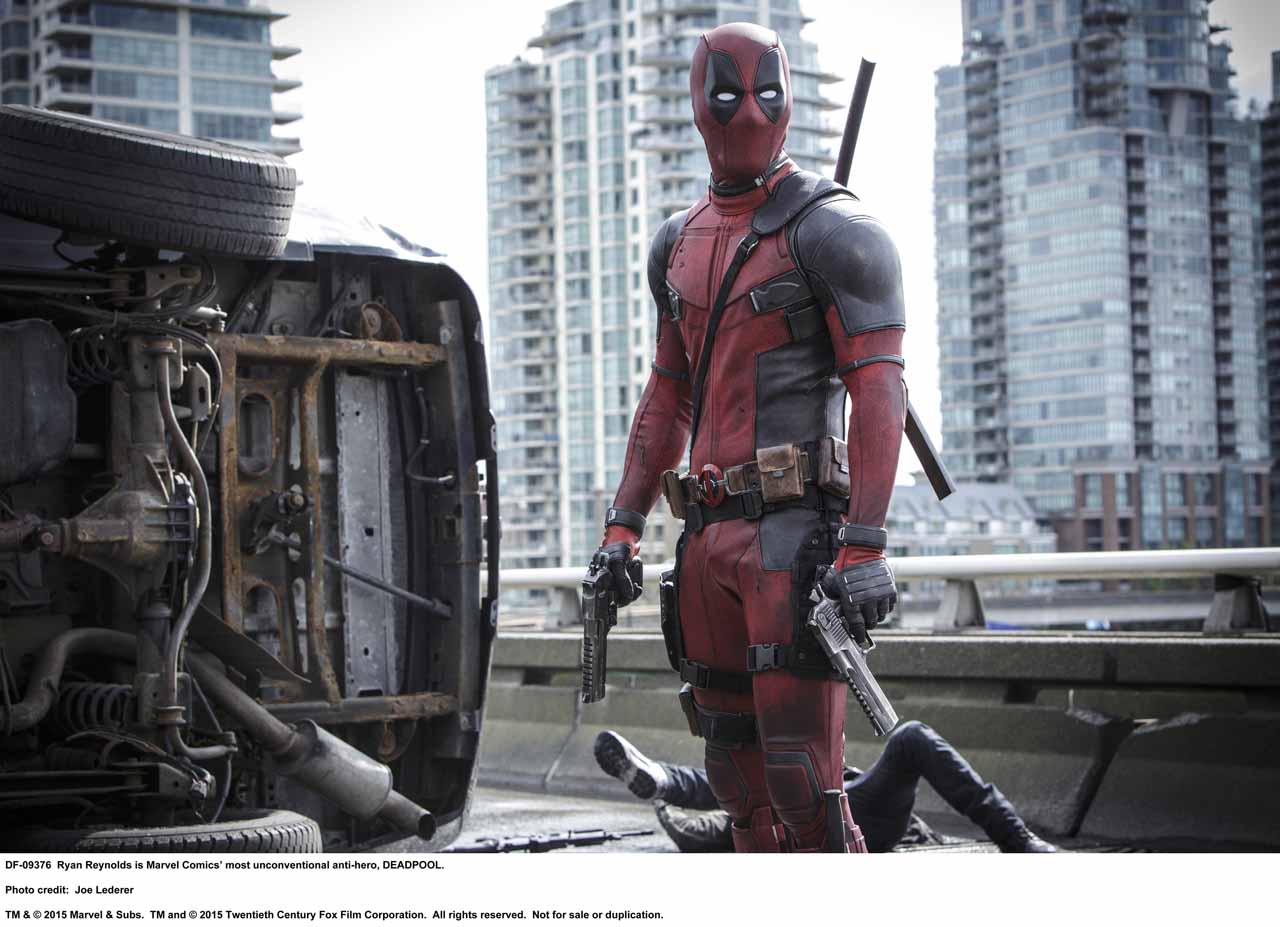 Ryan Reynolds Shares Deadpool Set Photo with Negasonic Teenage Warhead ...