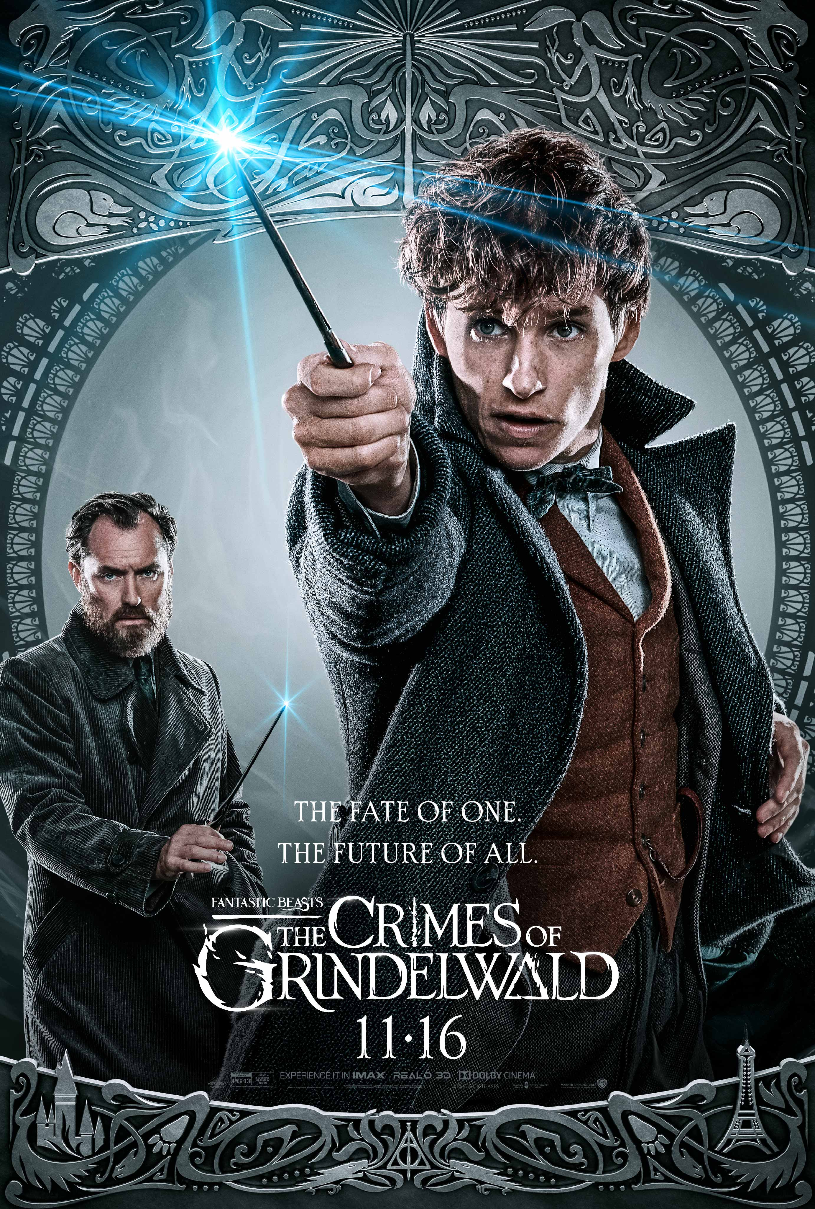 Fantastic Beasts: The Crimes of Grindelwald (2018) Dual Audio 480p BluRay x264