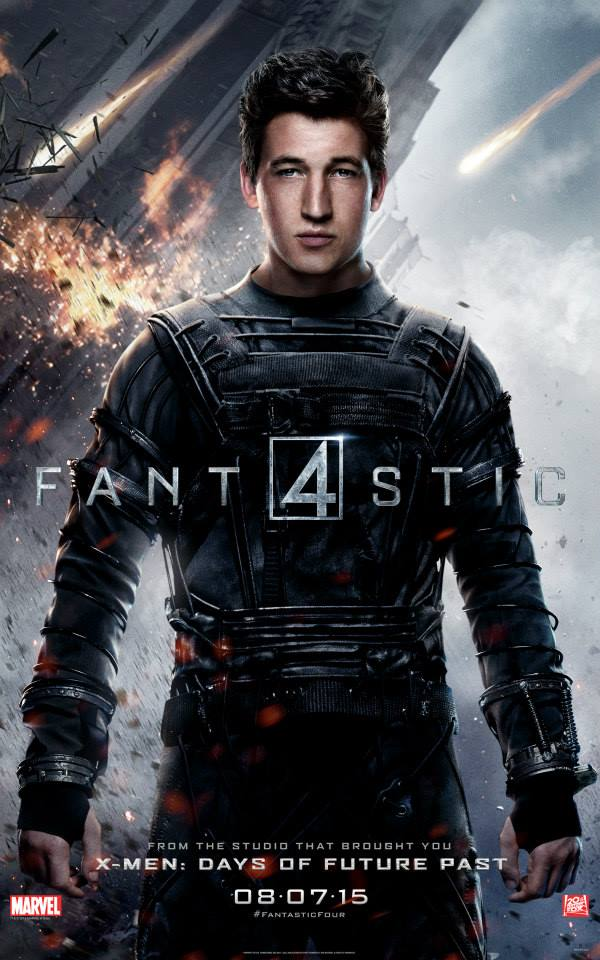 Fantastic Four Reed Richards Character Poster