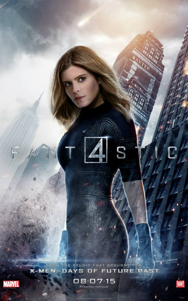 Fantastic Four Sue Storm Character Poster