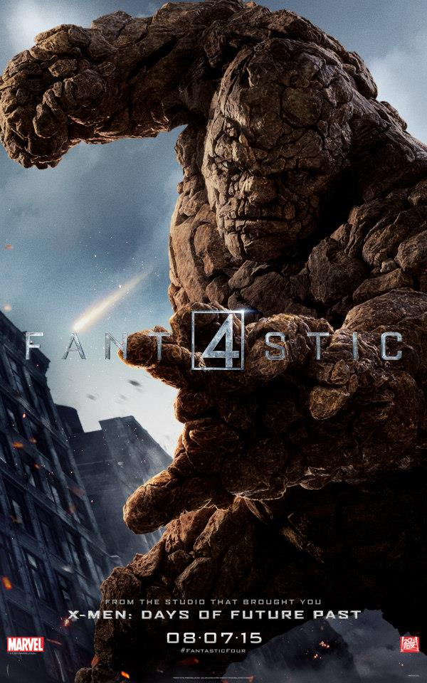 Fantastic Four Ben Grimm Character Poster