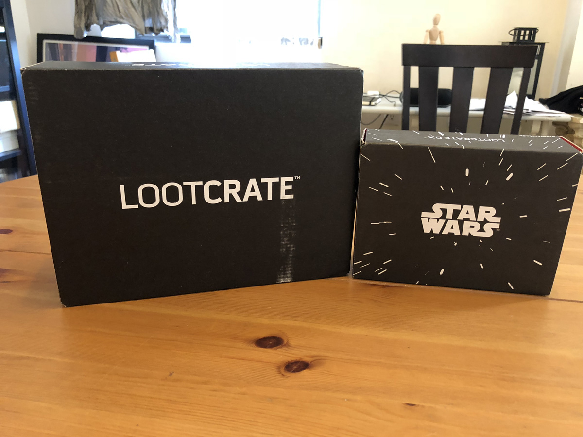 February 2018 Standard Loot Crate + Star Wars DX Bonus