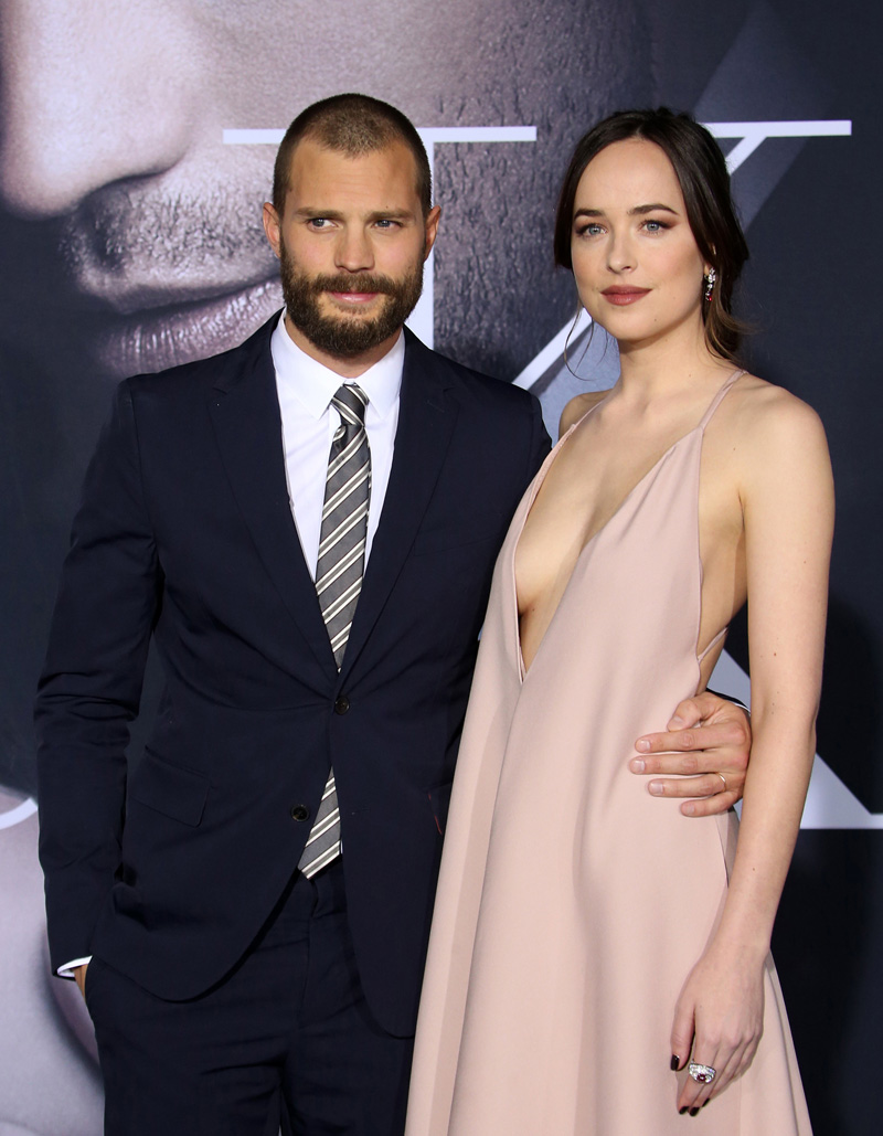 Fifty Shades Darker Premiere