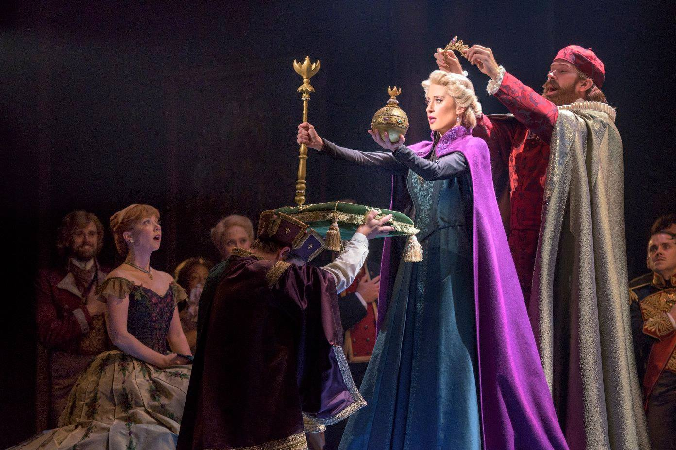 New frozen musical photos released by disney blogs for The broadway