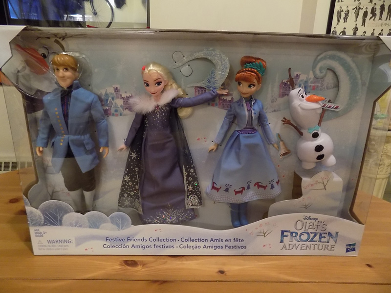 Olaf's Frozen Adventure Festive Friends Collection