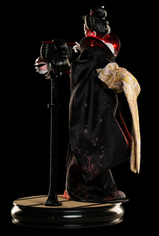 Geisha Detail - Ghost In the Shell - WETA Collectibles