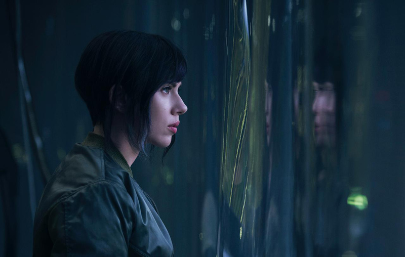 Scarlett Johansson som Major i Ghost In The Shell