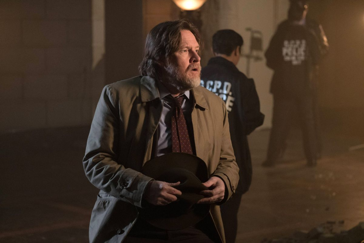 """GOTHAM: Donal Logue in the """"Heroes Rise: All Will Be Judged"""" episode of GOTHAM airing Monday, May 22 (8:00-9:01 PM ET/PT) on FOX. Cr: Jessica Miglio/FOX"""