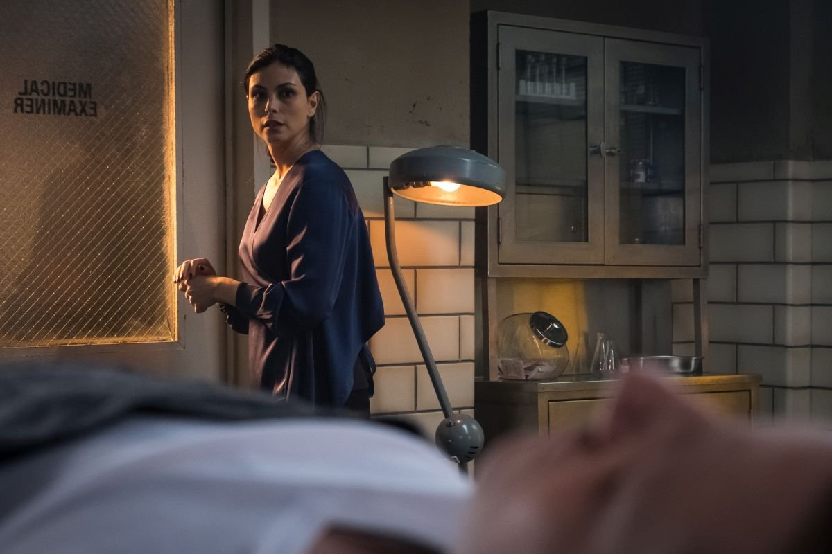 """GOTHAM: Morena Baccarin in the """"The Trial of Jim Gordon"""" episode of GOTHAM airing Thursday, March 7 (8:00-9:00 PM ET/PT) on FOX. ©2019 Fox Broadcasting Co. Cr: Jeff Neumann/FOX"""