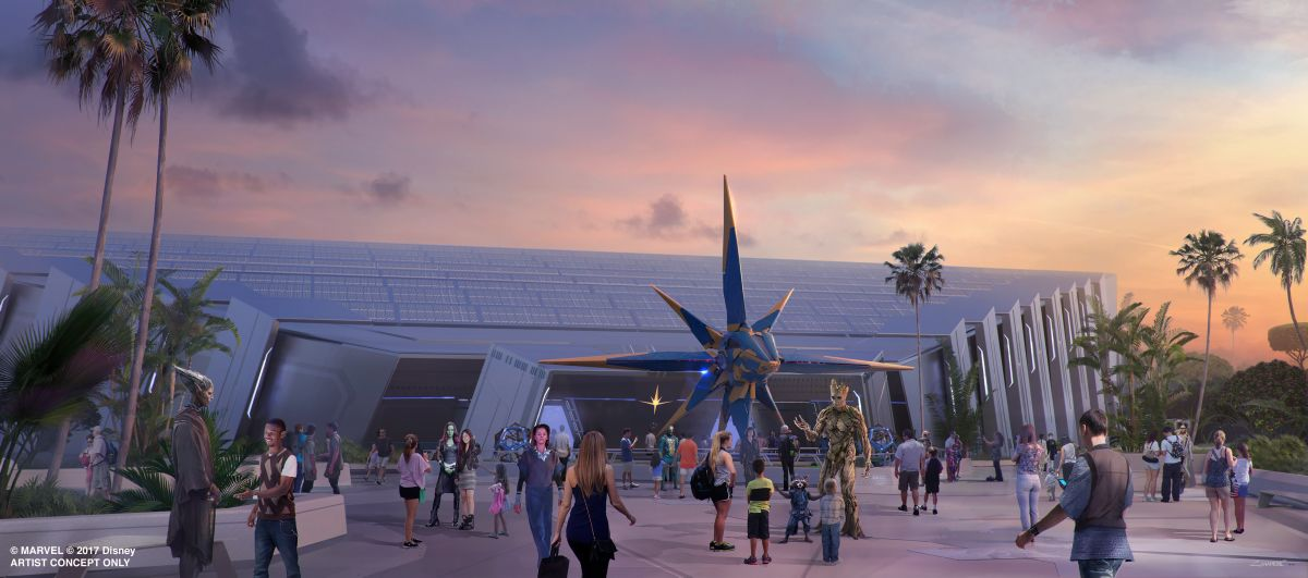 Guardians of the Galaxy Epcot