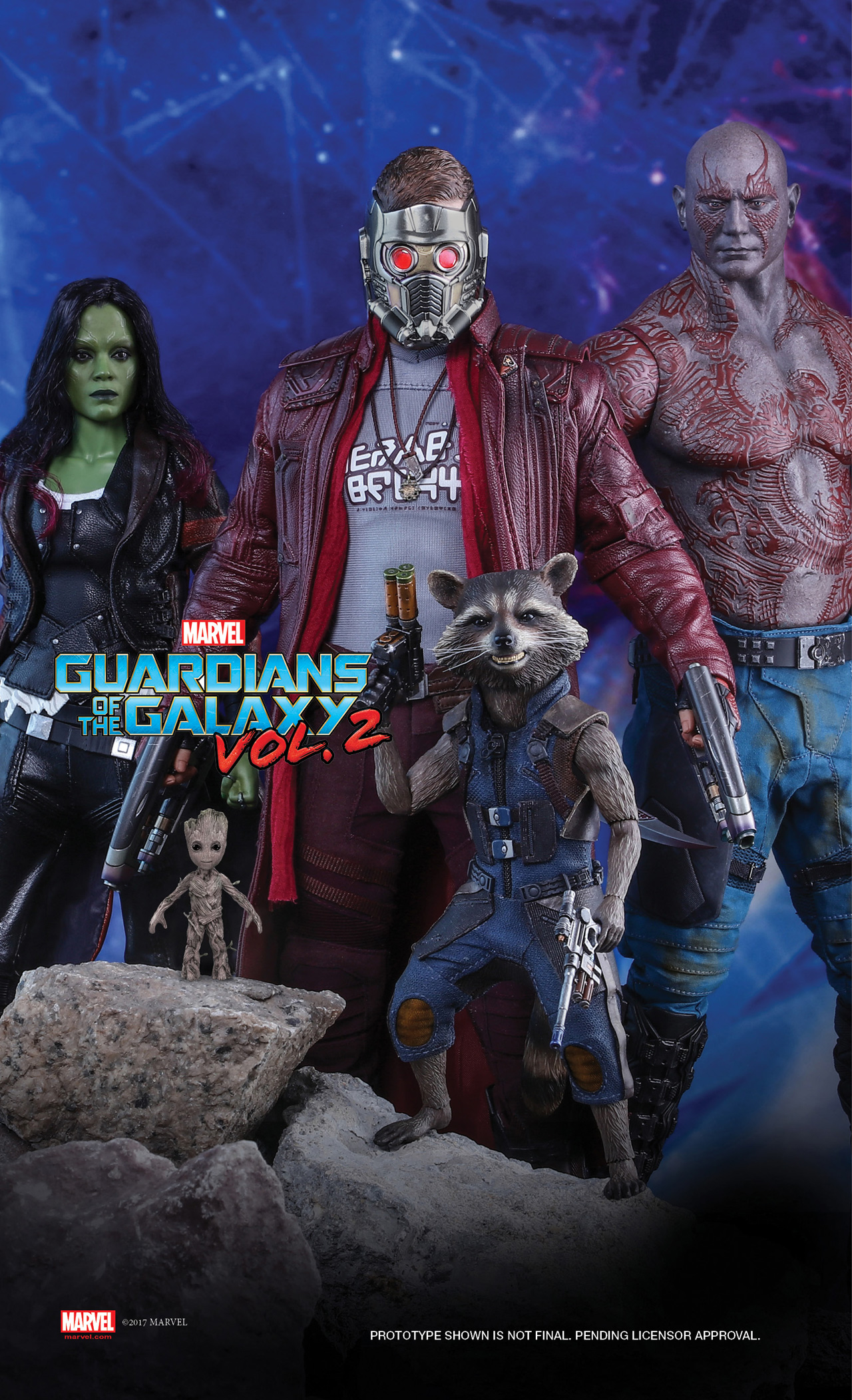 Guardians of the Galaxy Vol. 2 Hot Toys