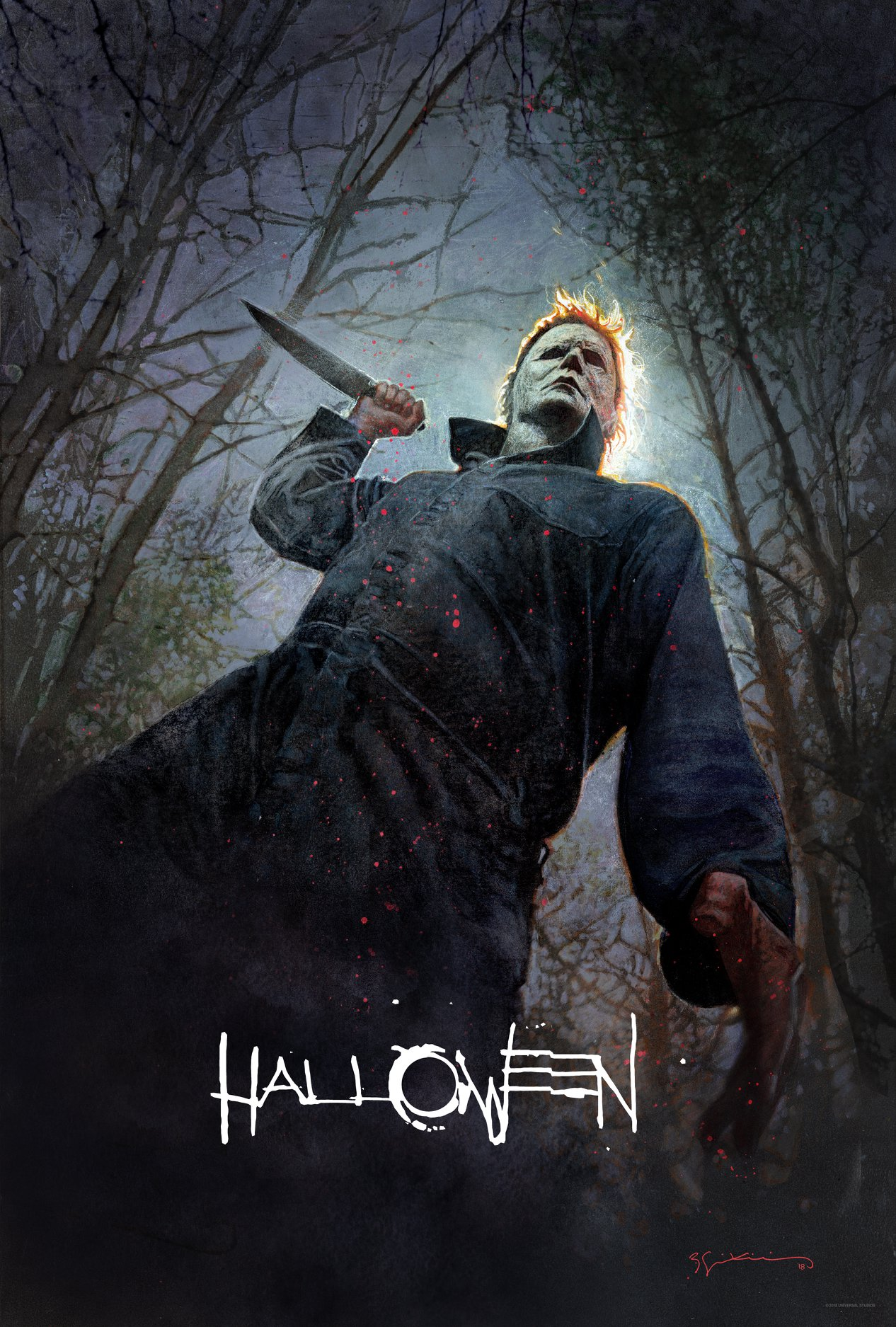 Comic-Con Halloween Poster Brings The Shape Home ...