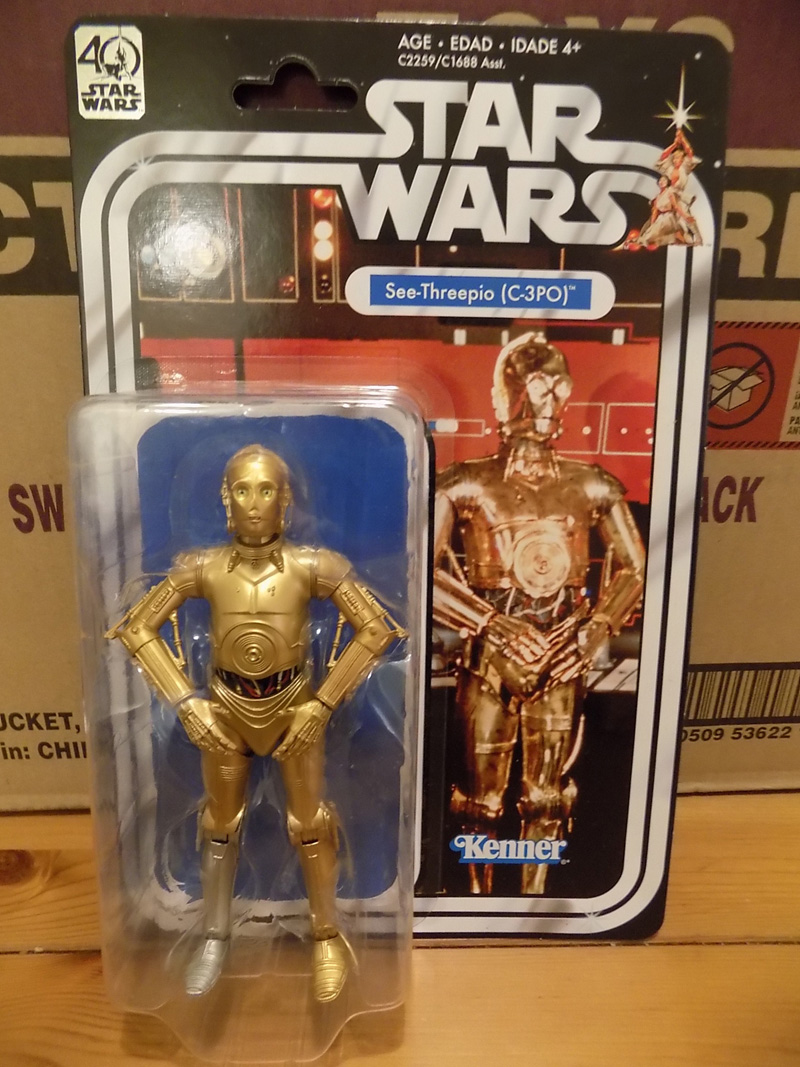 Hasbro Star Wars 40th Anniversary Legacy Pack
