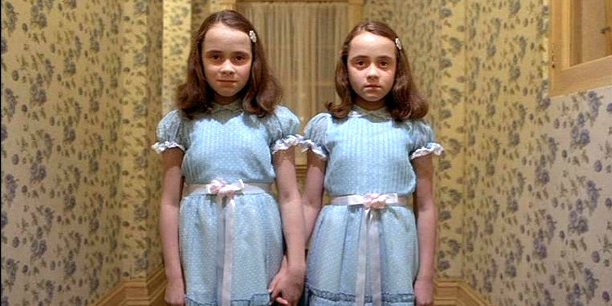 9. The Grady Twins in The Shining (1980)
