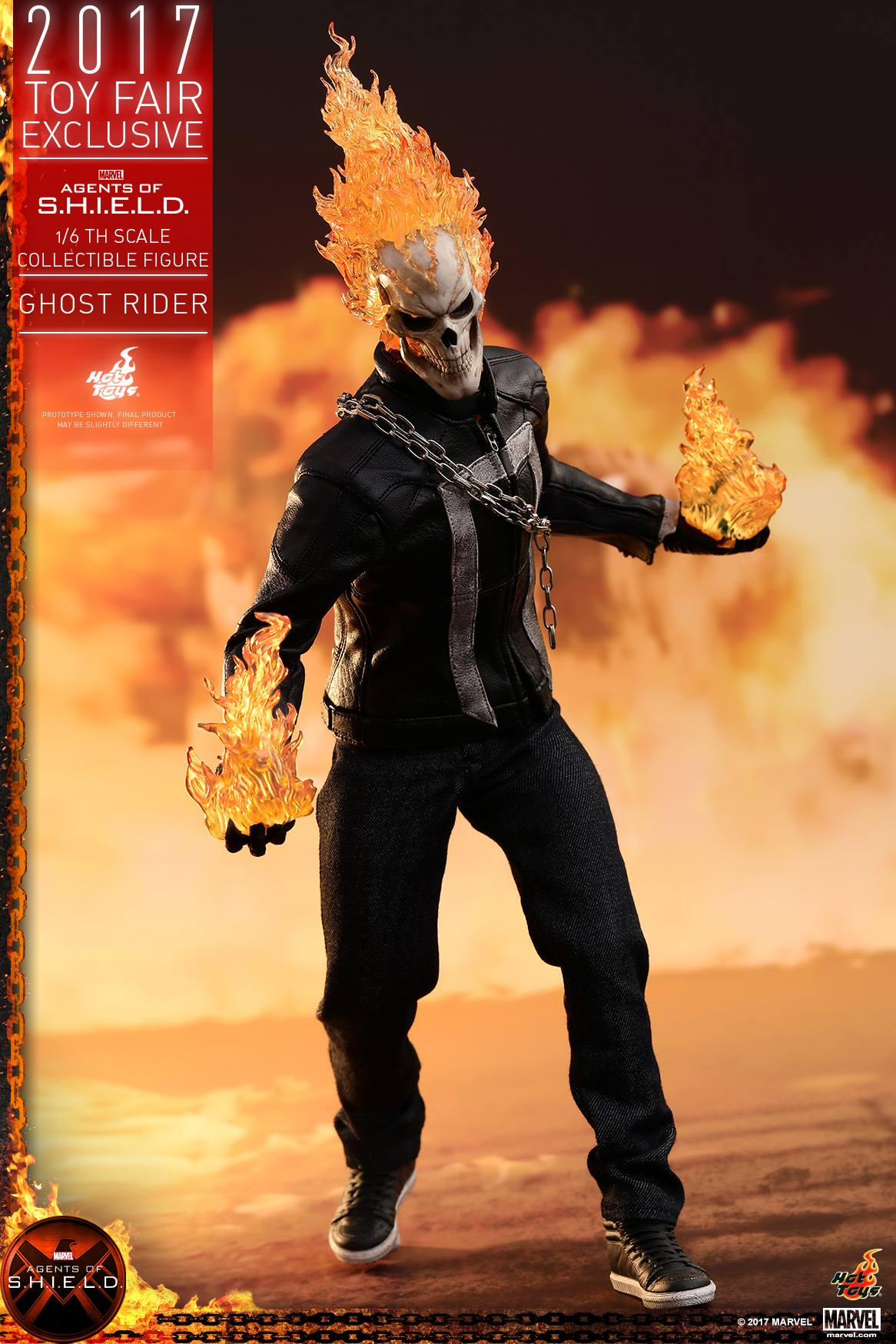 Agents of SHIELD -1/6th scale Ghost Rider Collectible Figure