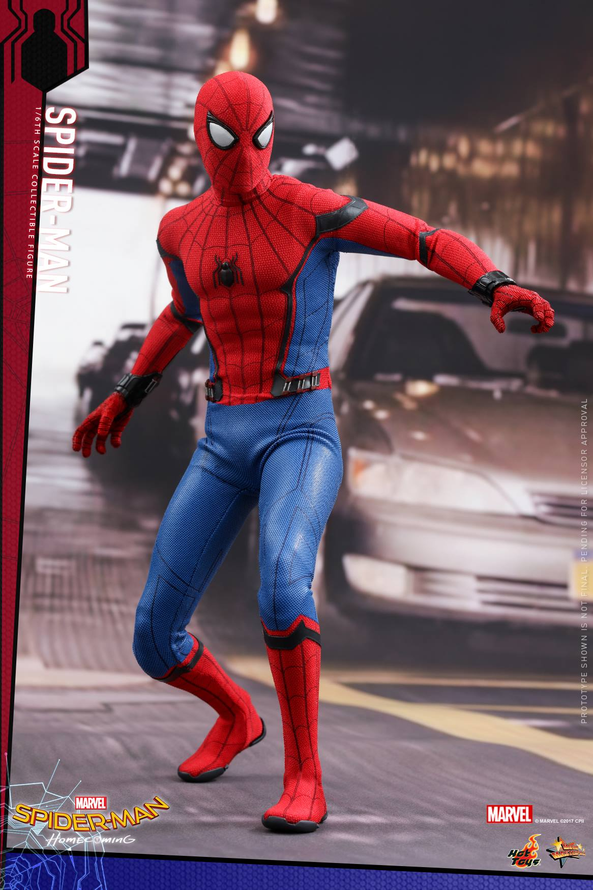 Homecoming Spider Man Toys : Mark xlvii hot toys figure for spider man homecoming