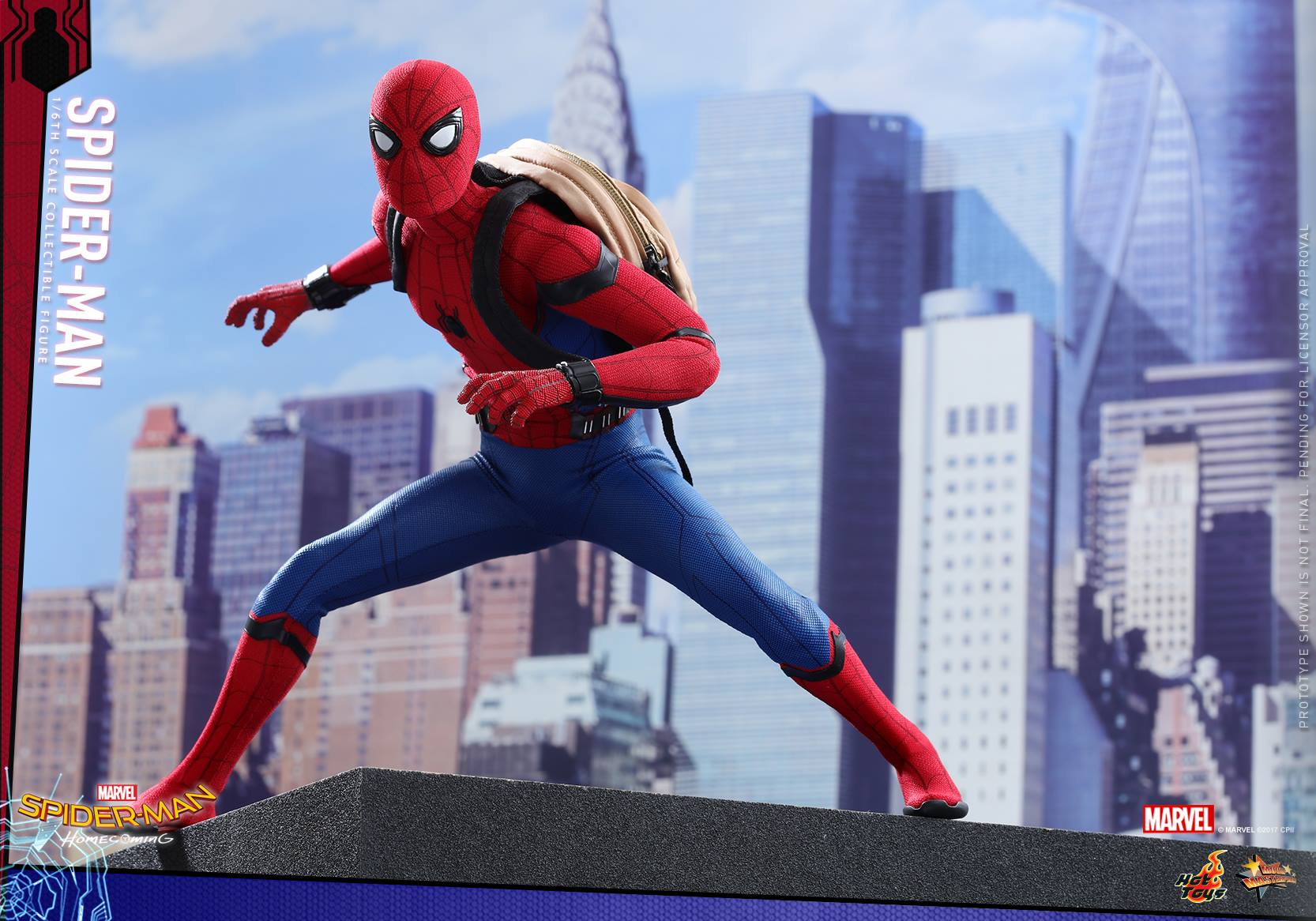Spider-Man: Homecoming Hot Toy
