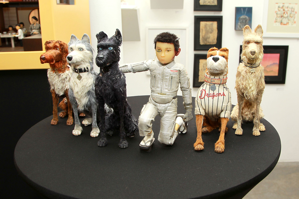 Isle of Dogs Art Exhibit