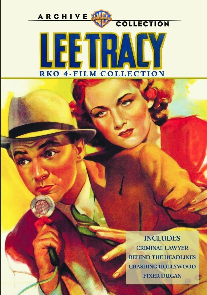 Lee Tracy 4-Film Collection