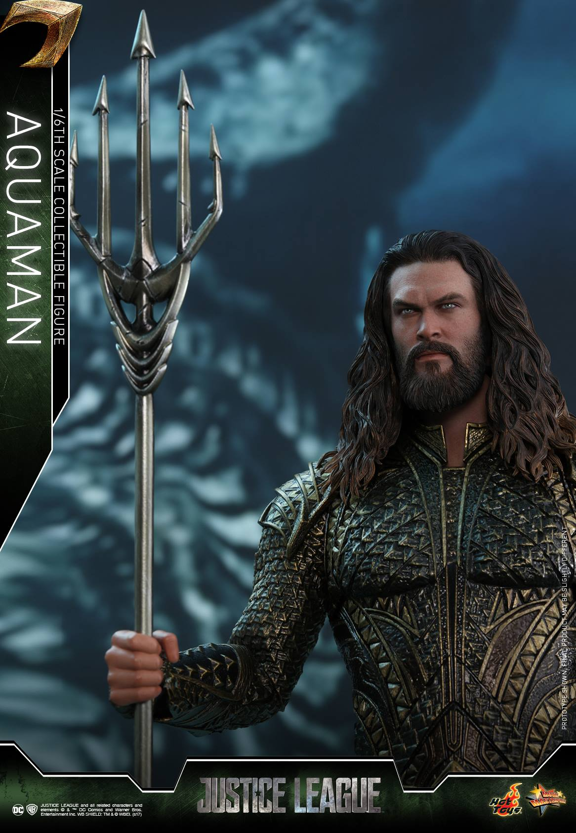 Justice League Aquaman Hot Toy
