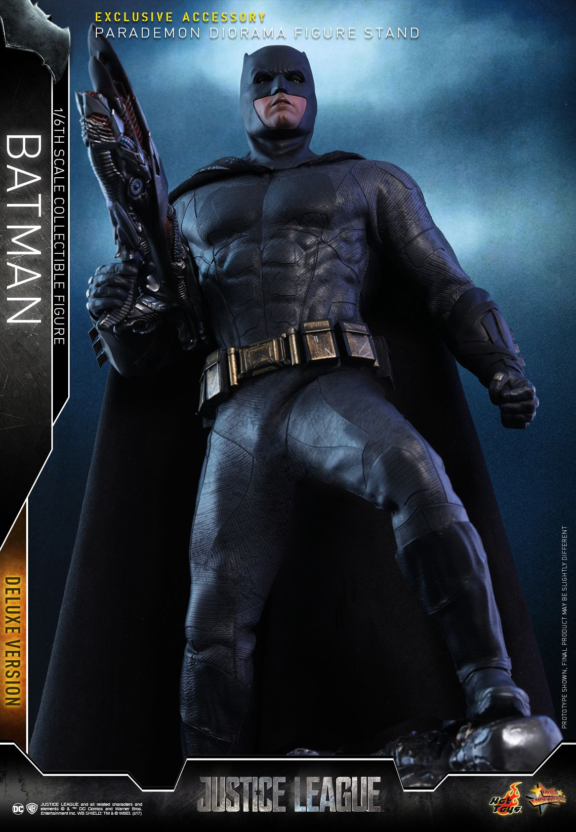 Justice League Batman Hot Toy (Deluxe)