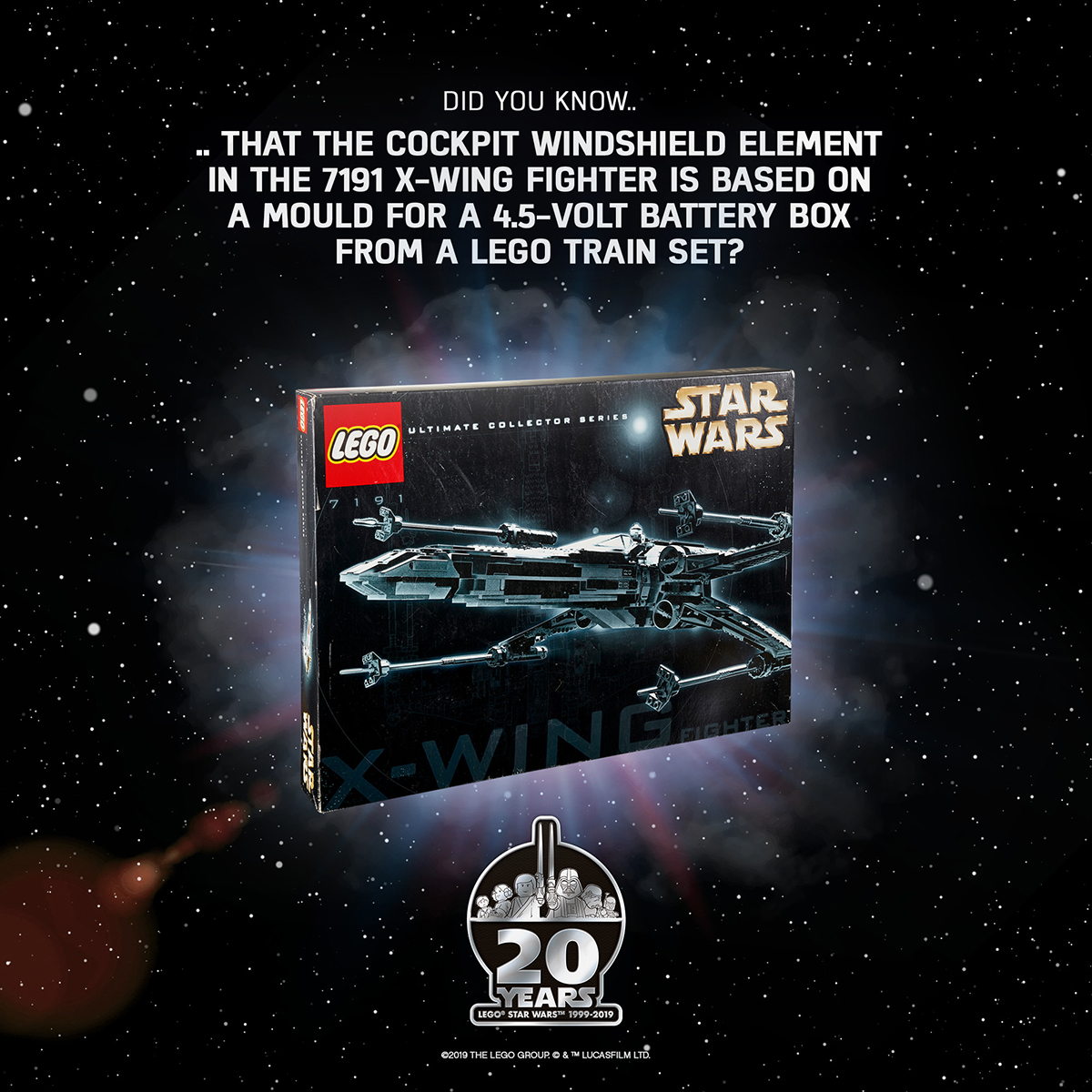 LEGO Star Wars 20th Anniversary