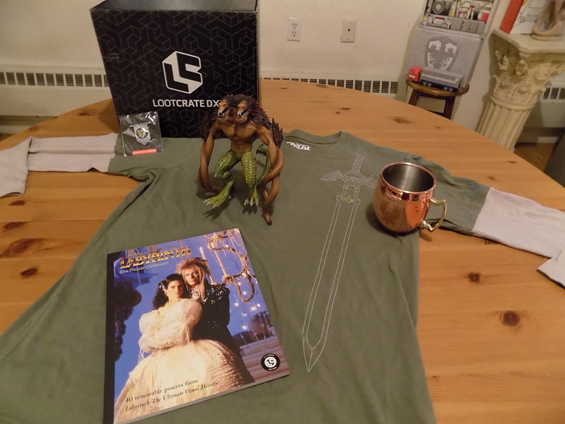 Loot Crate DX August 2017: Kingdom