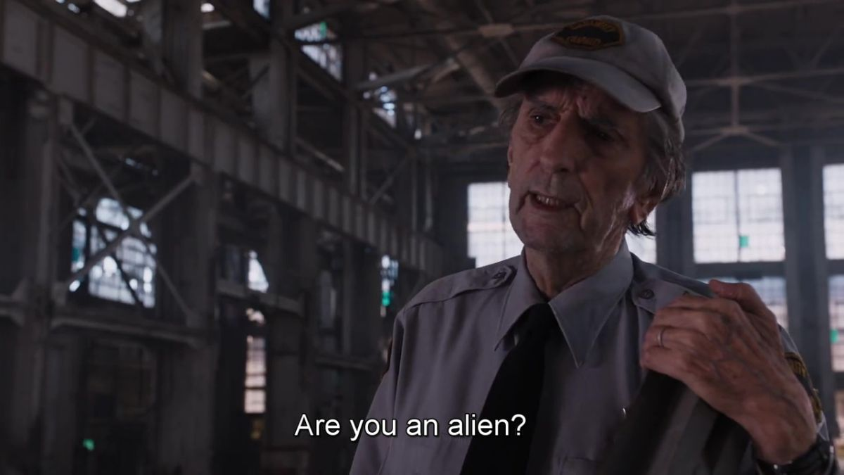 You an alien?