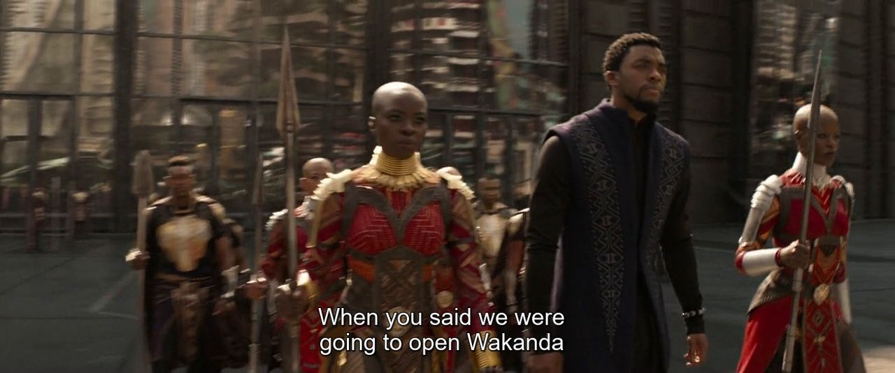 Opening up Wakanda