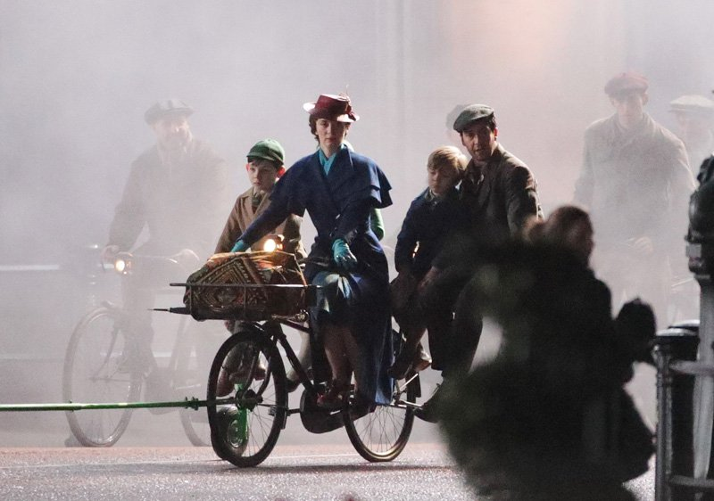 Mary Poppins Returns Set Photos