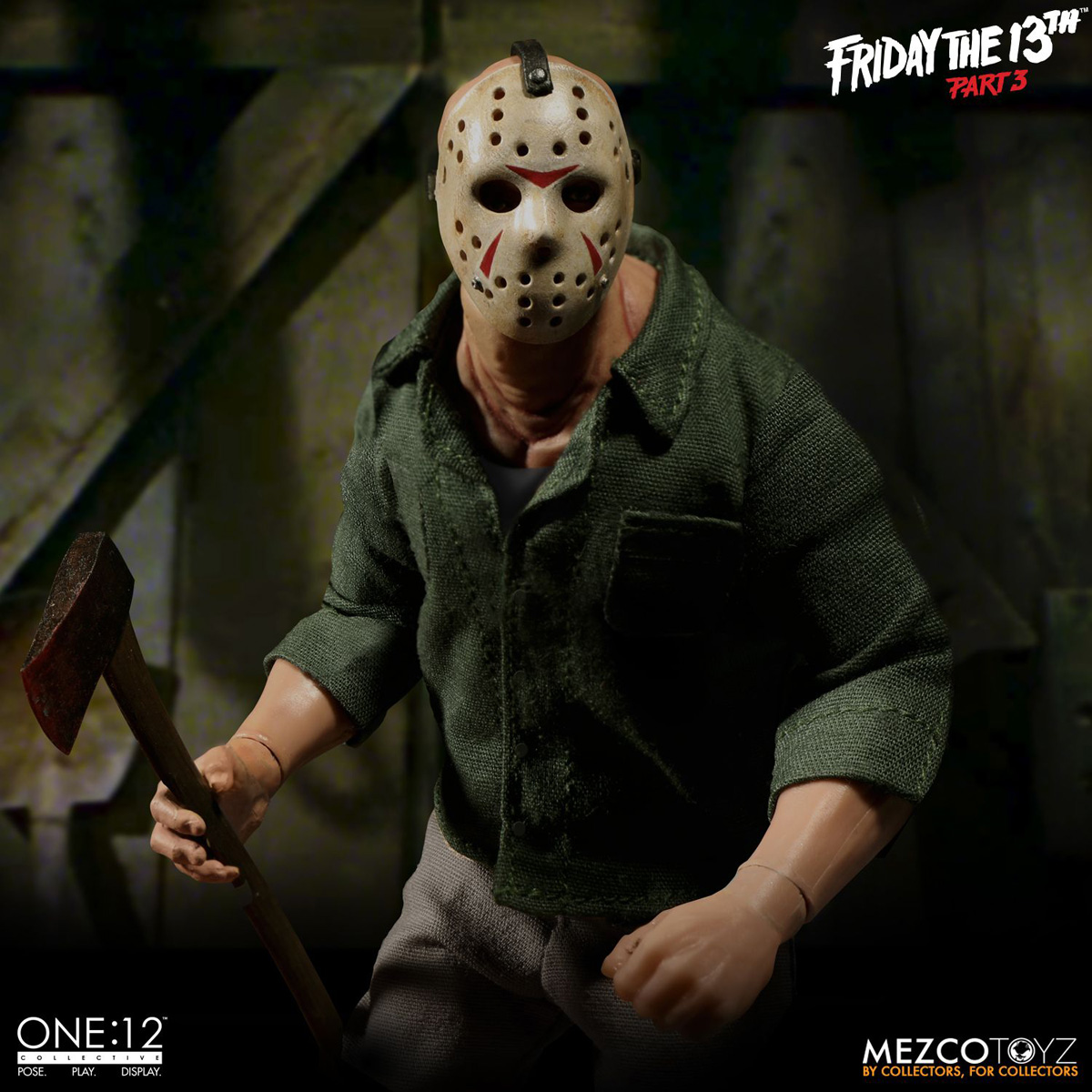 Friday the 13th Part 3 Jason Voorhees Toy Unveiled by Mezco