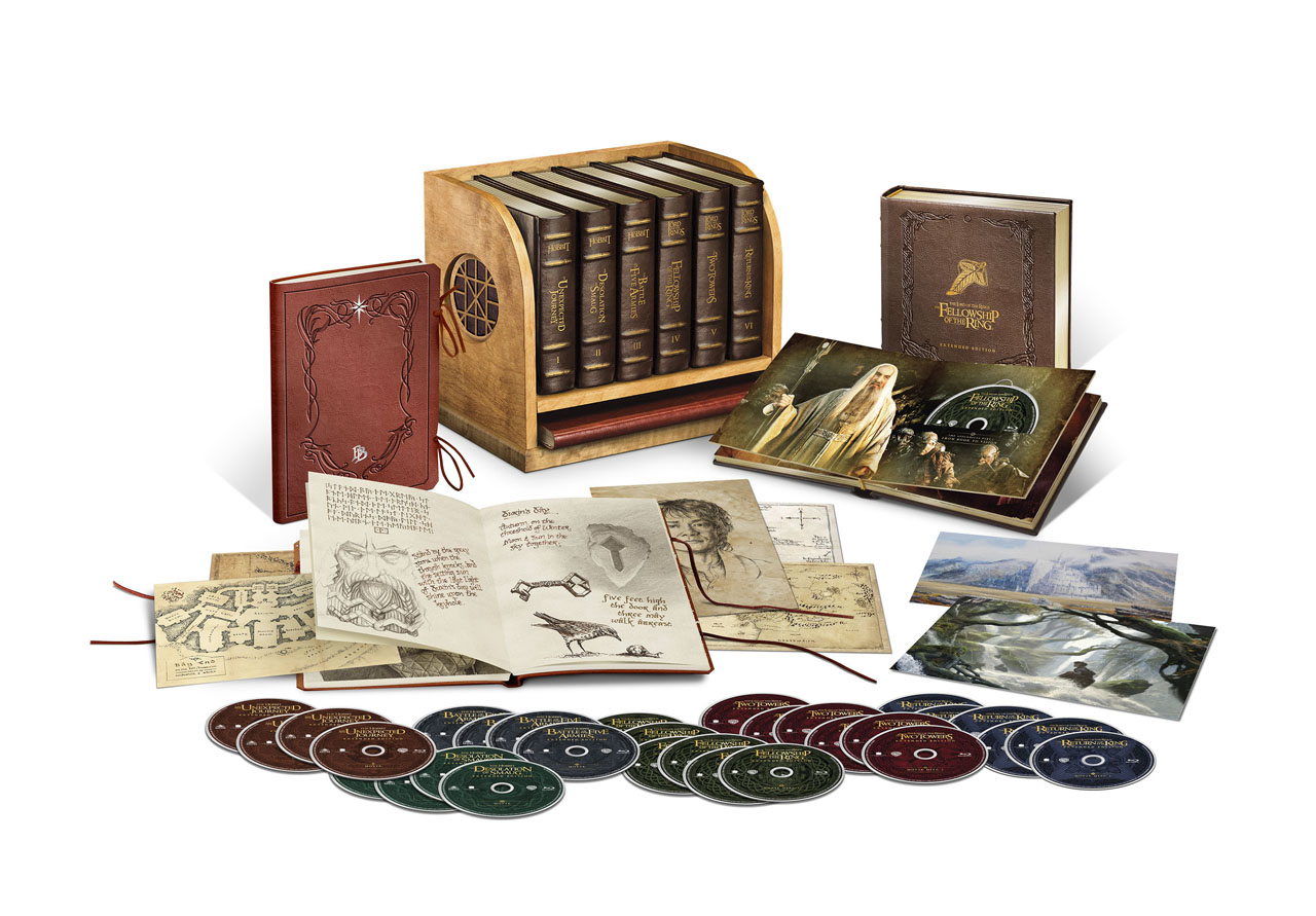 Lord Of The Rings Boxset Disc