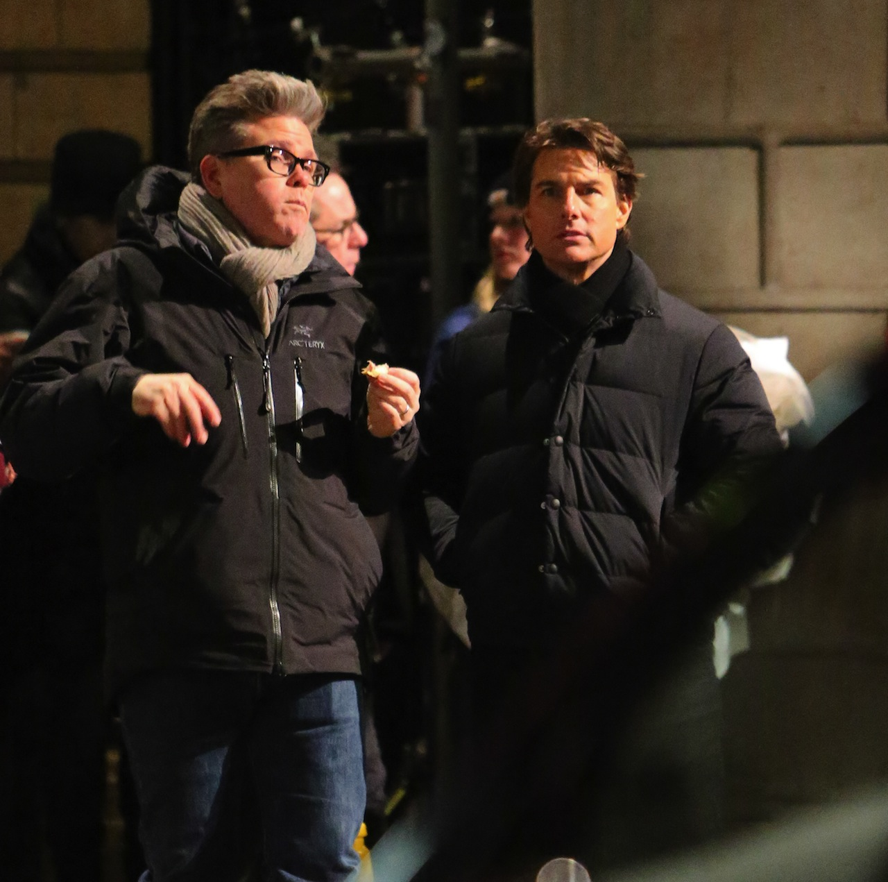 Tom Cruise films scenes for 'Mission: Impossible 5' in London Featuring: Tom Cruise Where: London, United Kingdom When: 21 Feb 2015 Credit: WENN.com