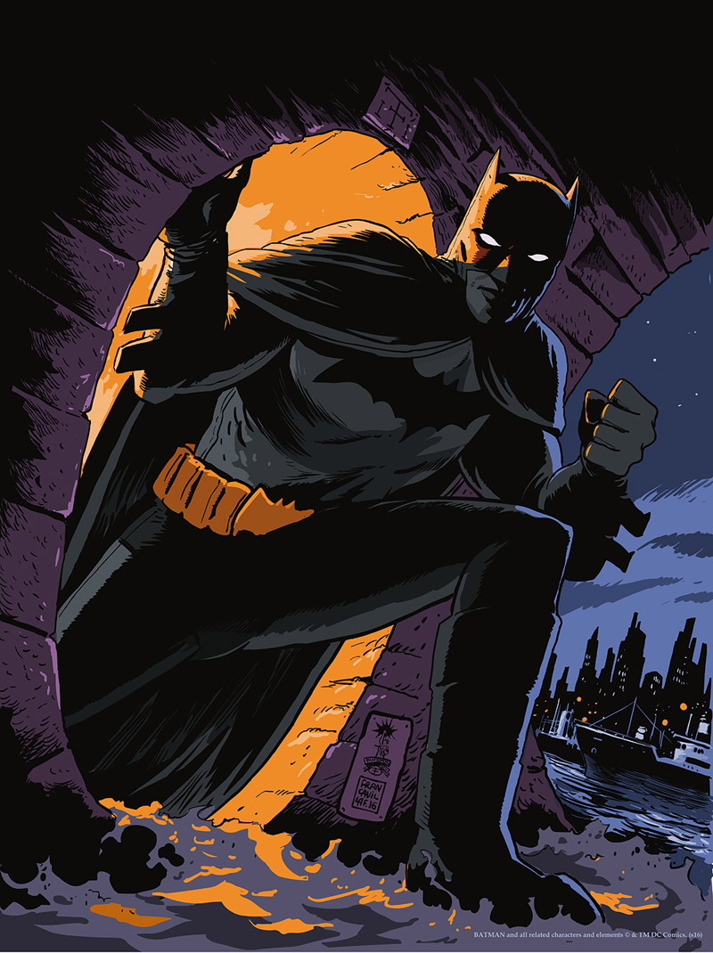 Francesco Francavilla, Batman: Detective Comics Cover