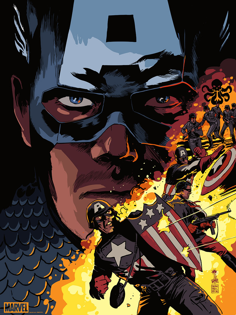 Francesco Francavilla, Captain America vs. Hydra