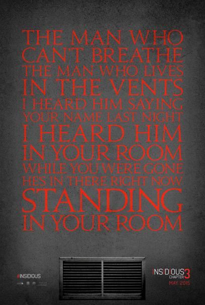 15. Insidious: Chapter 3 (Focus Features) - June 5