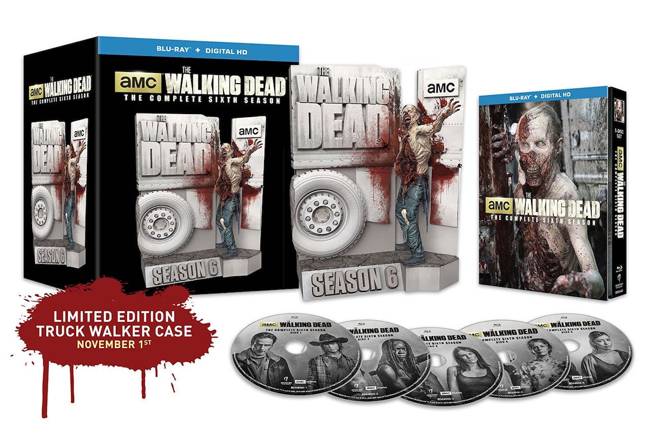 The Walking Dead: The Complete Sixth Season Limited Edition