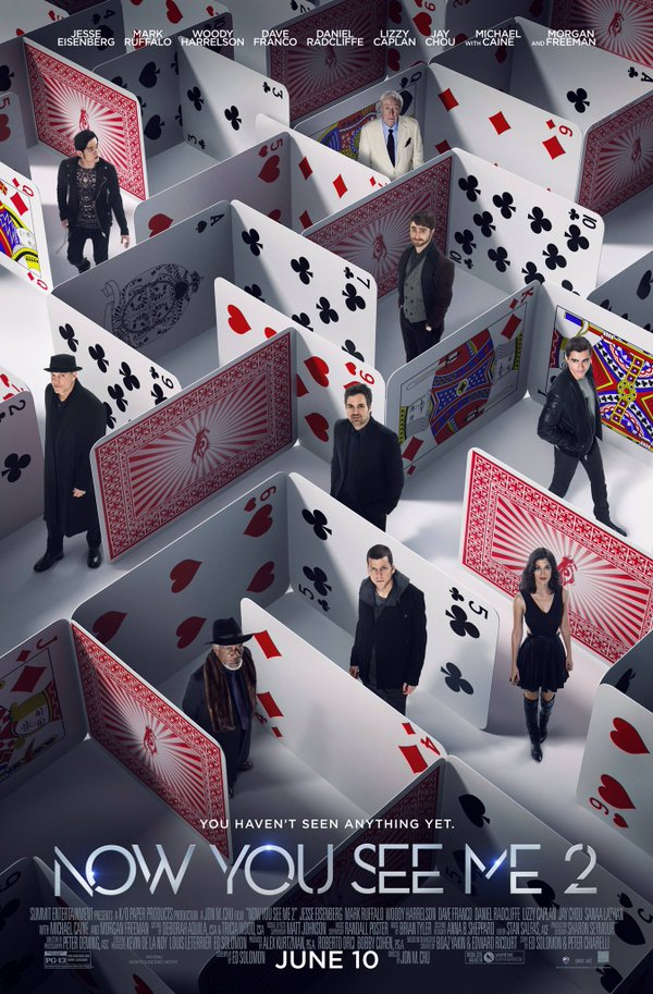 Now You See Me 2 2016 *Logo Blurred* English HDCAM x264 – iRENka 816Mb