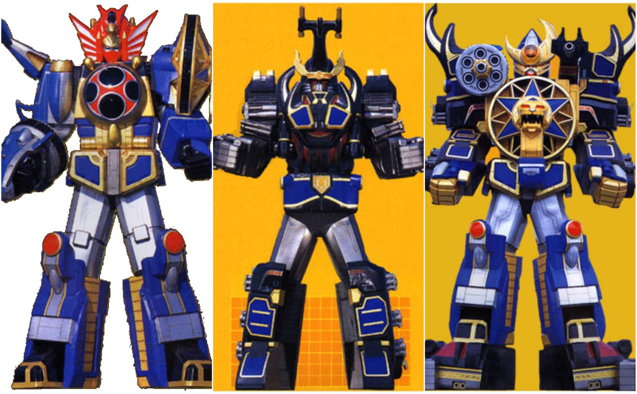 Power Rangers Zords: A Guide to Their Mighty Morphin Giant ...