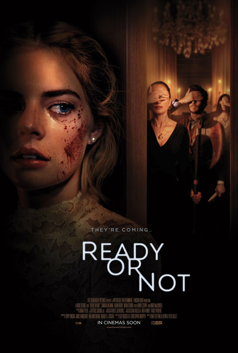 It's A Twisted Game of Hide & Seek in Ready or Not Red Band Trailer